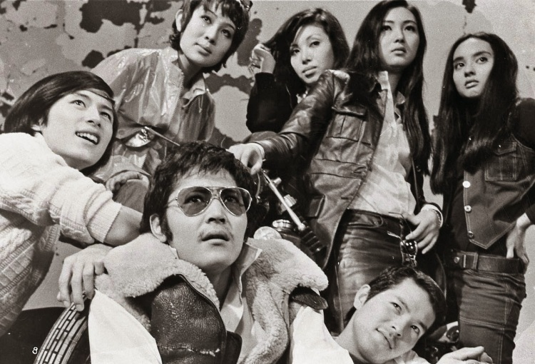 Stray Cat Rock Wild Measures '71 cast