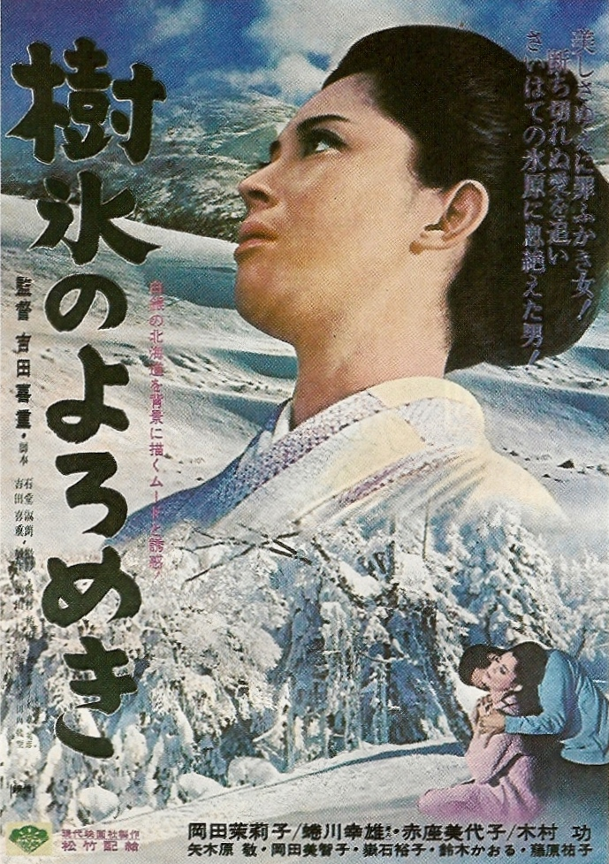 affair in the snow poster