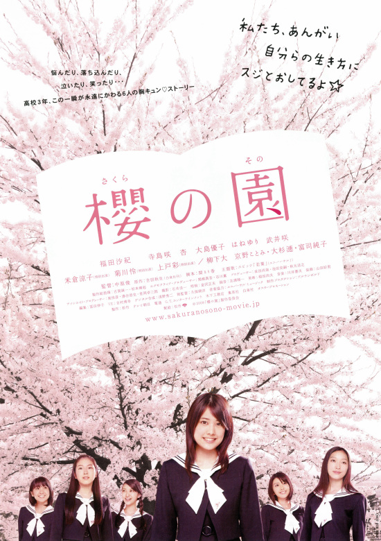 The Cherry Orchard- Blossoming poster