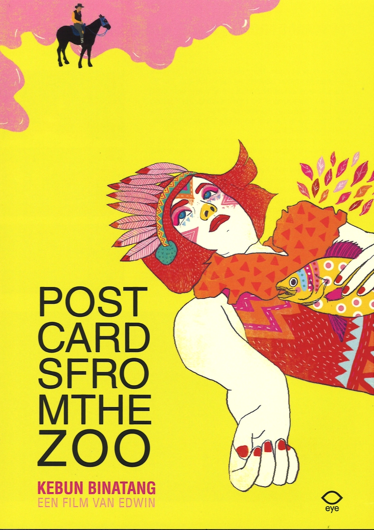 postcards from the zoo poster