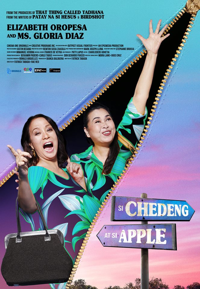 chedeng and apple poster