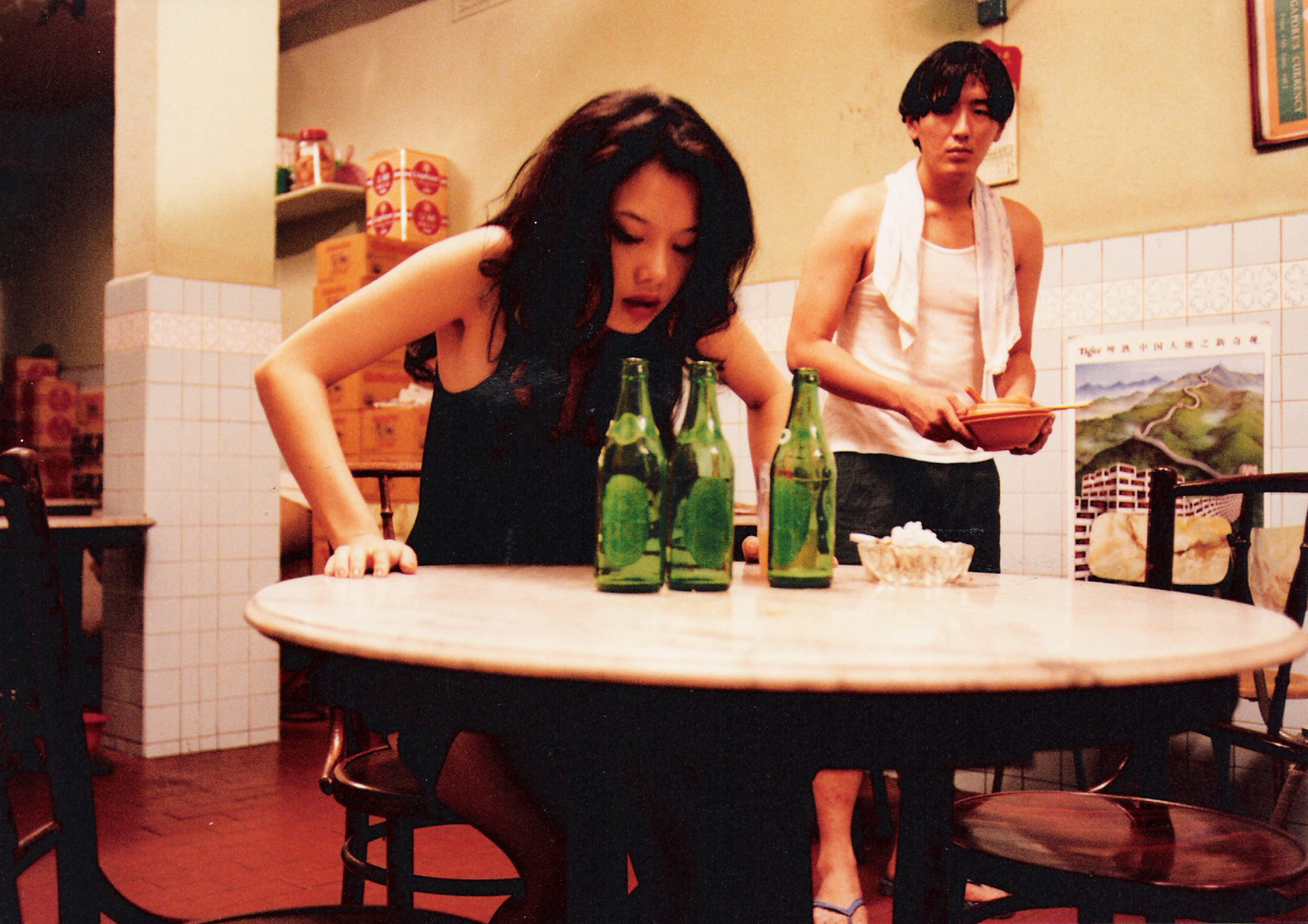 Cinema still: Mee Pok Man starring Michelle Goh and Joe Ng##########x##########